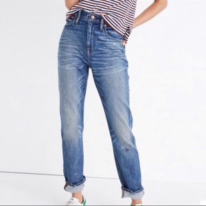 Madewell High-Rise Slim Boy Jean